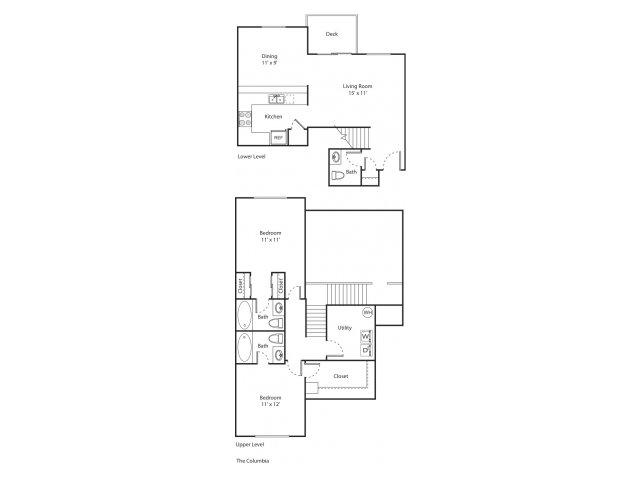The Columbia | Apartment Eugene Oregon | River Terrace