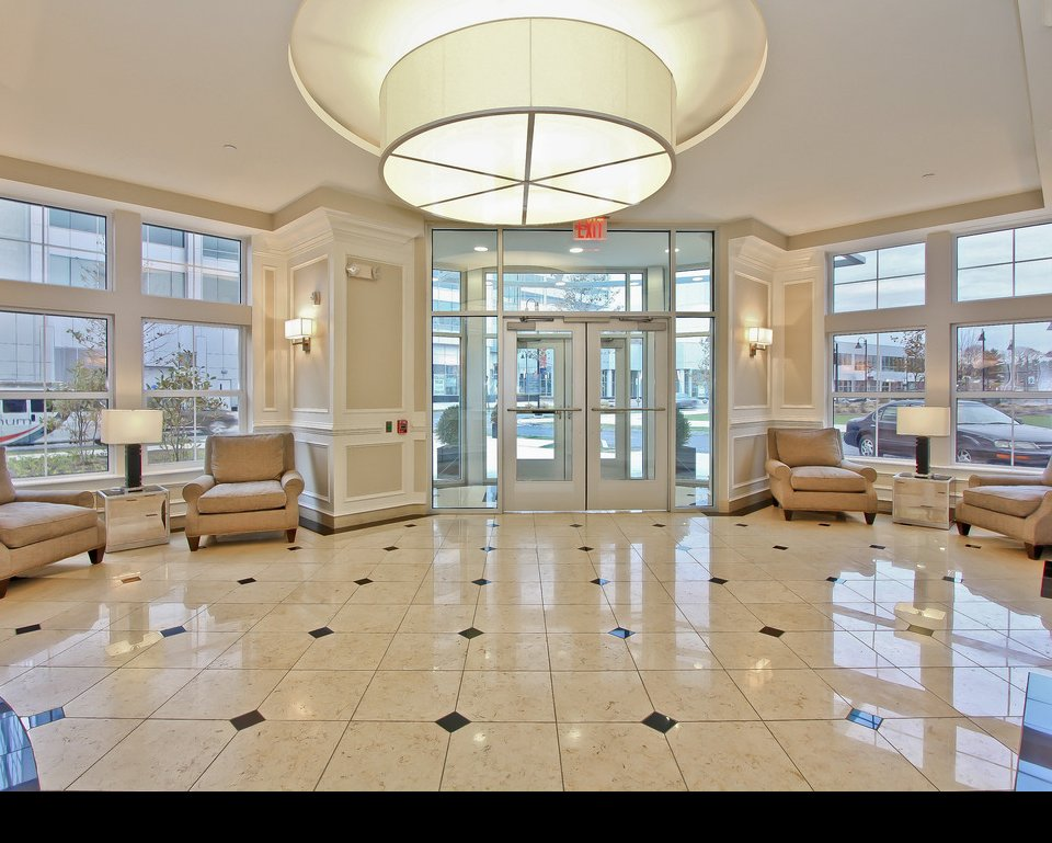 Spectacular clubhouse at luxury apartments in Stamford