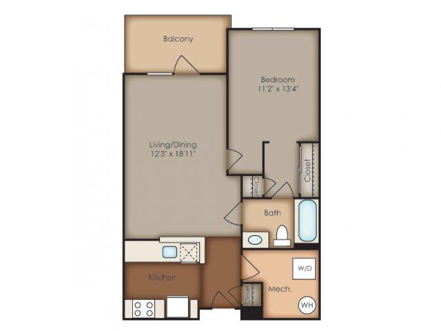 Floor Plan 2 | Del Ray Central