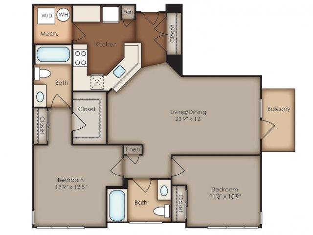 Floor Plan 5 | Del Ray Central