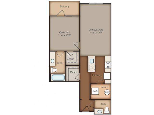 Floor Plan 14 | Del Ray Central