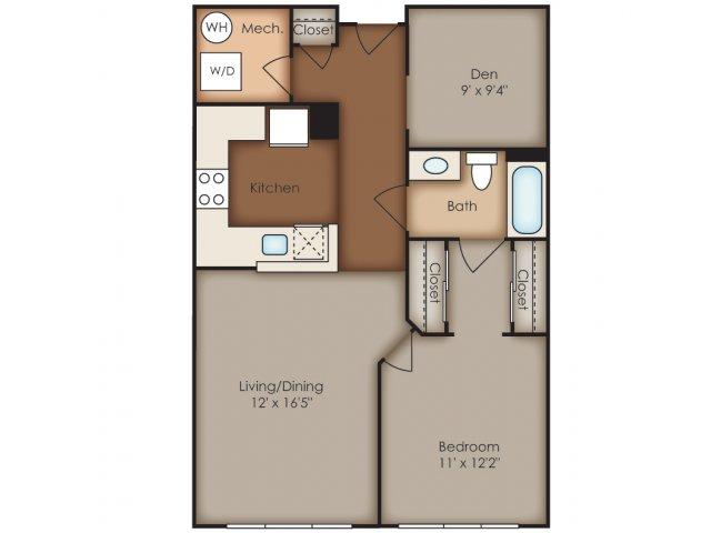 Floor Plan 18 | Del Ray Central
