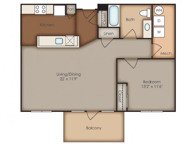 Floor Plan 20 | Del Ray Central
