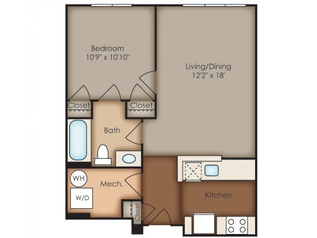 Floor Plan 21 | Del Ray Central