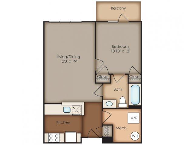 Floor Plan 25 | Del Ray Central