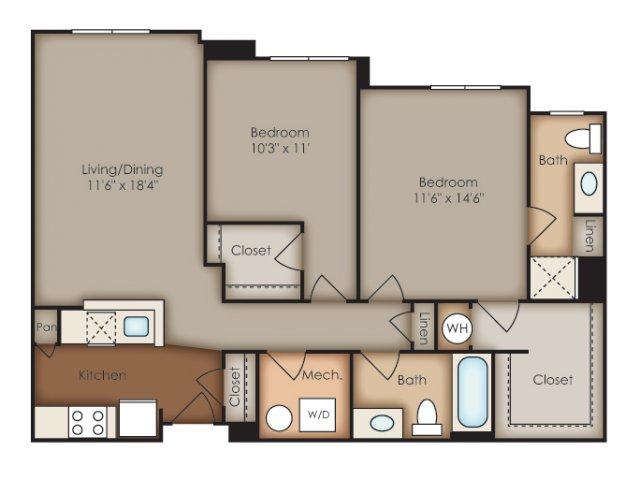 Floor Plan 30 | Del Ray Central