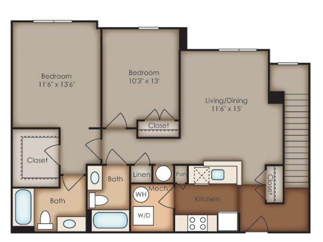 Floor Plan 32 | Del Ray Central