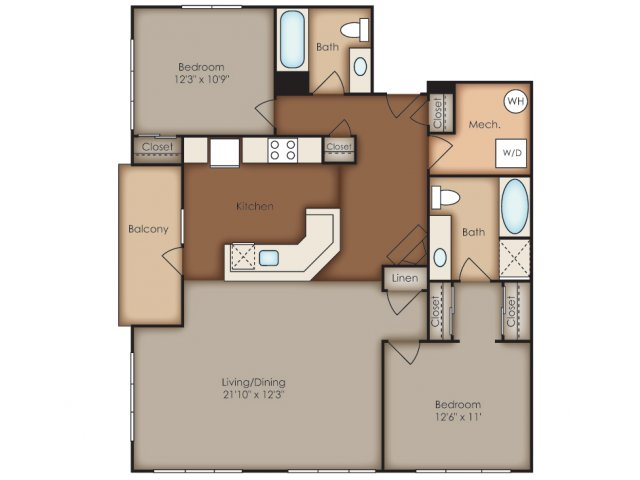 Floor Plan 36 | Del Ray Central