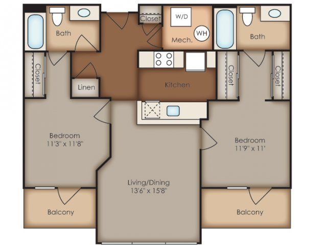 Floor Plan 39 | Del Ray Central