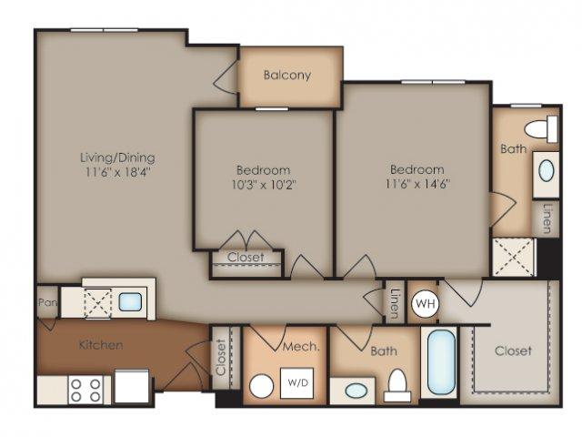 Floor Plan 40 | Del Ray Central