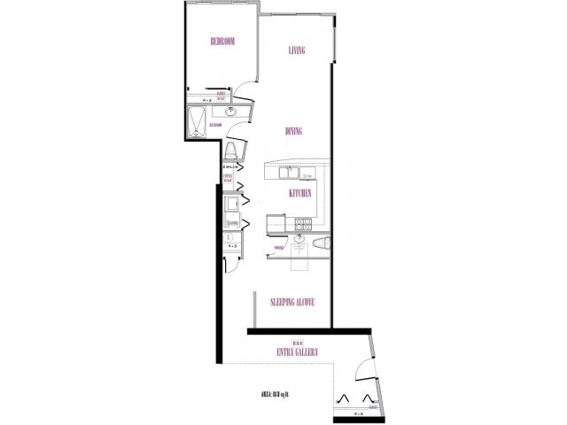 Stuart | 1 bed 2 bath | from 1131 square feet