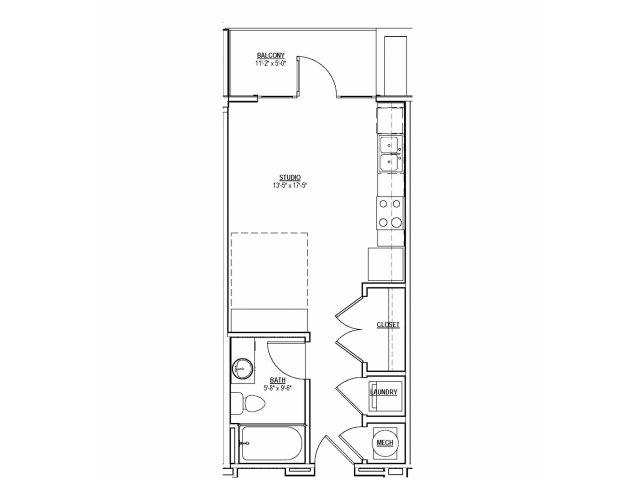 Floorplan 1 | 131 Ponce
