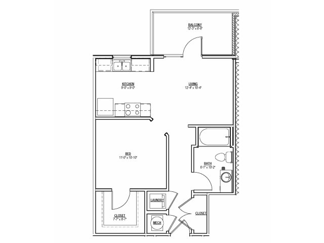 Floorplan 4 | 131 Ponce
