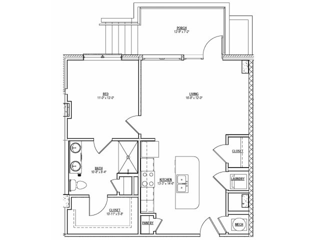 Floorplan 11 | 131 Ponce