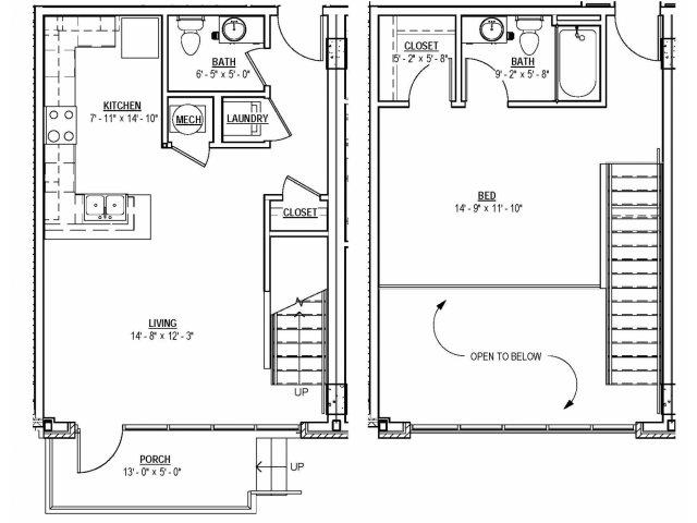 Floorplan 12 | 131 Ponce