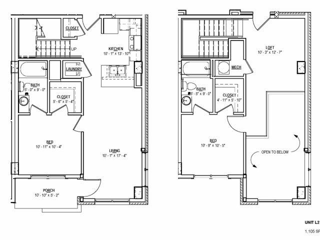 Floorplan 19 | 131 Ponce