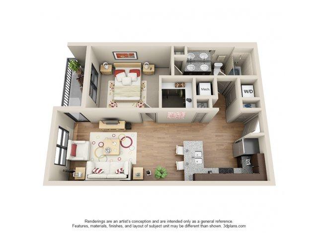 Floorplan 7 | 131 Ponce