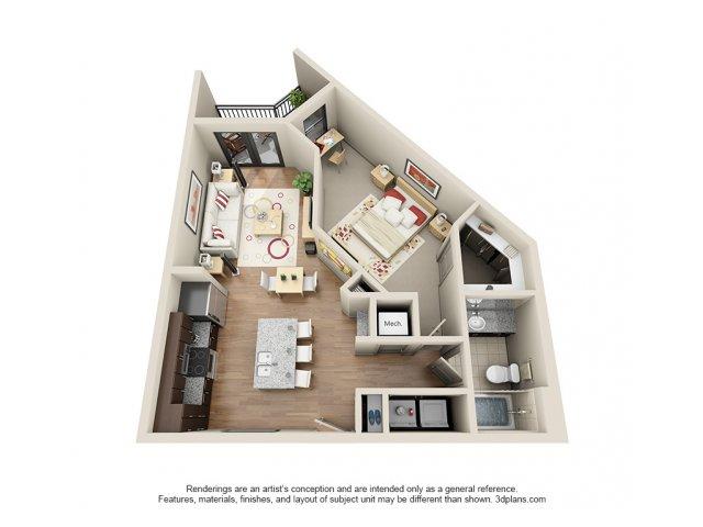 Floorplan 9 | 131 Ponce