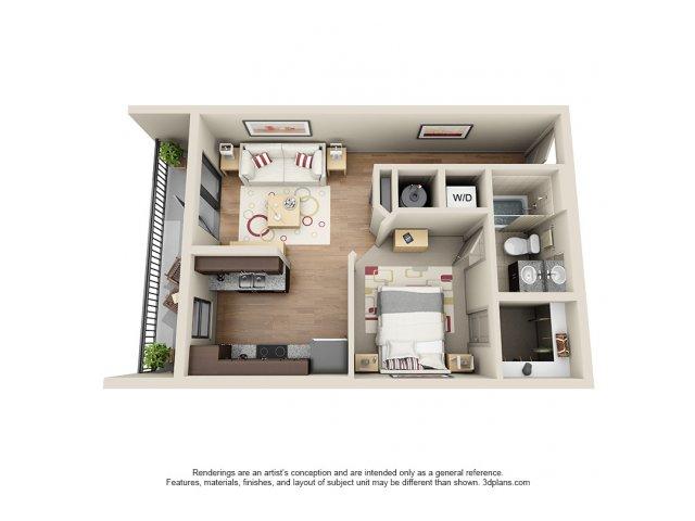 Floorplan 2 | 131 Ponce