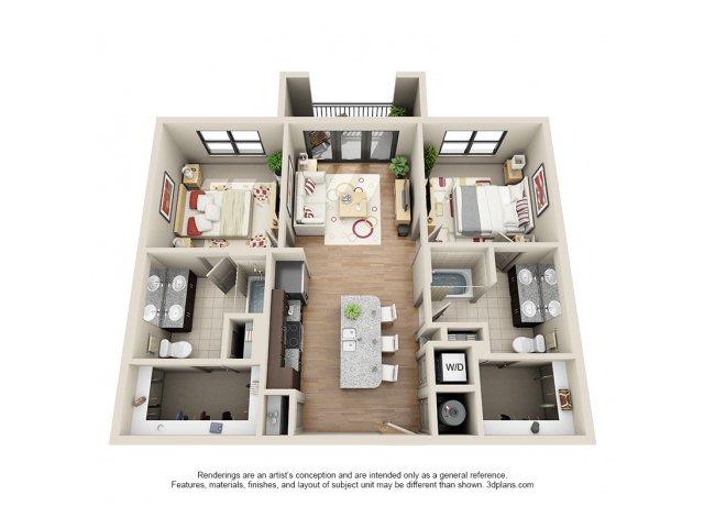 Floorplan 13 | 131 Ponce