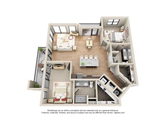 Floorplan 17 | 131 Ponce