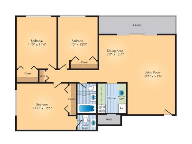 Floor Plan 5   Rollingwood