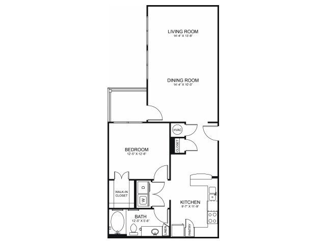 Floorplan 6 | Seventeen Apartments