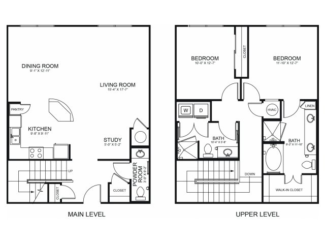 Floorplan 9 | Seventeen Apartments