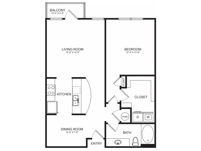 Floorplan 3 | Seventeen Apartments