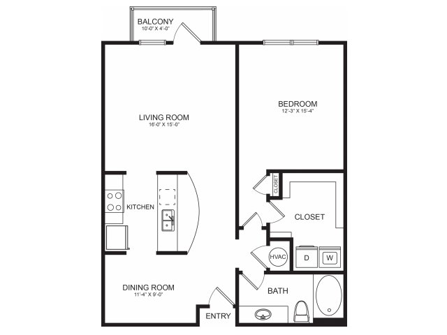 Seventeen West | Spacious Floorplans