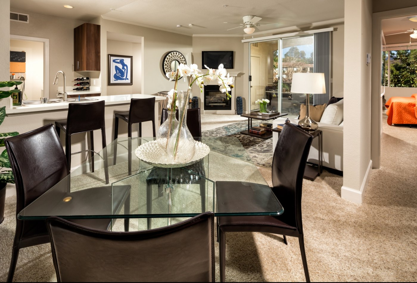 Spacious Dining Room   Apartments In Irvine CA   Avila at Rancho Santa Margarita