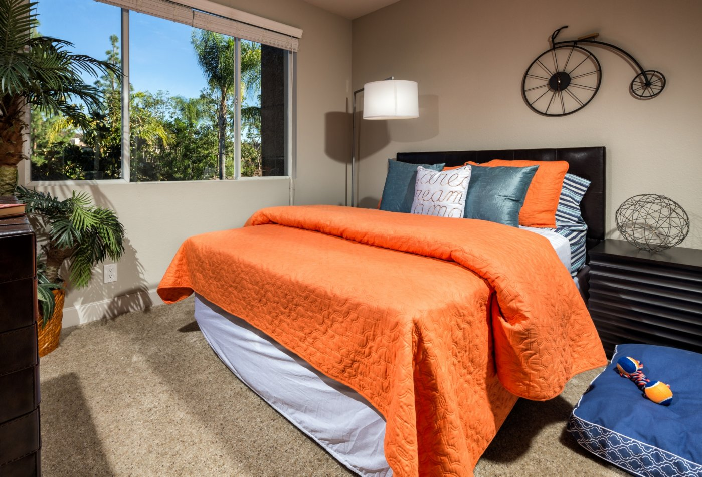 Spacious Bedroom | New Apartments In Irvine | Avila at Rancho Santa Margarita