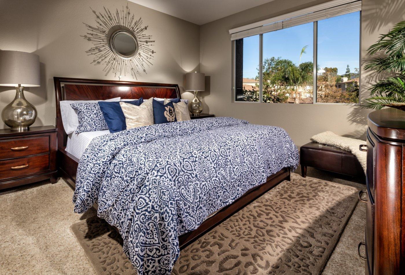 Elegant Bedroom   Apartments For Rent In Rancho Santa Margarita   Avila at Rancho Santa Margarita