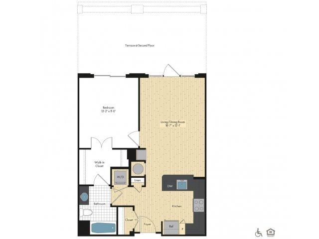 Upstairs at Bethesda Row