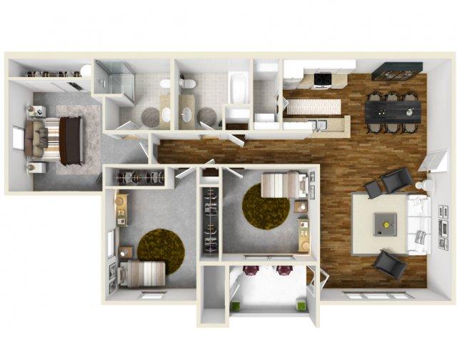 Floor Plan 3 | The Bailey at Amazon Creek