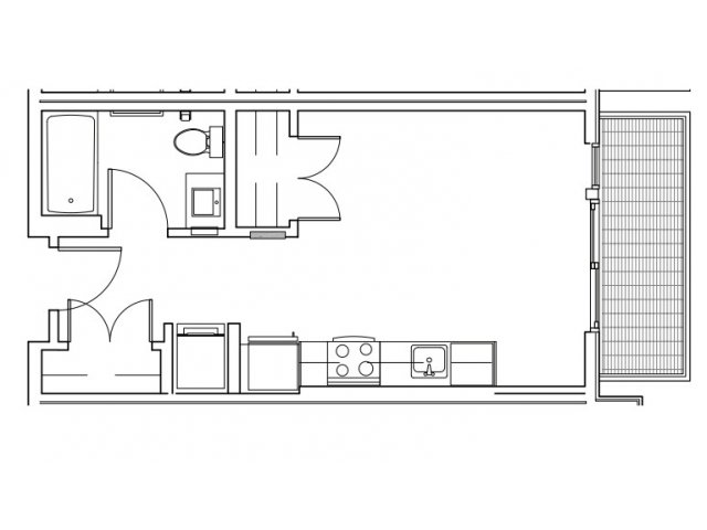 A | West Seattle Apartment | Spruce