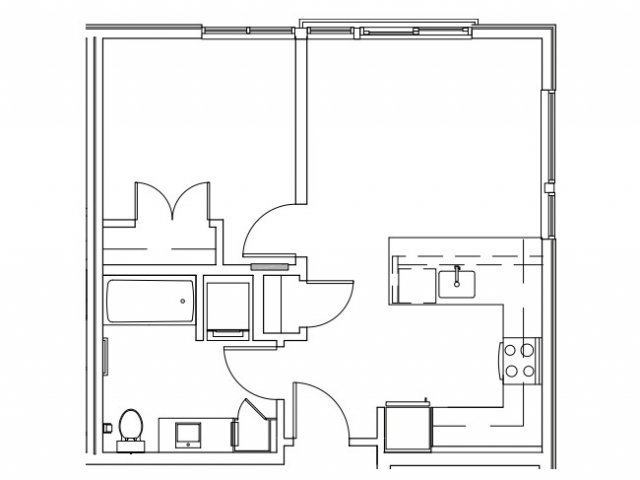 N | West Seattle Apartment | Spruce