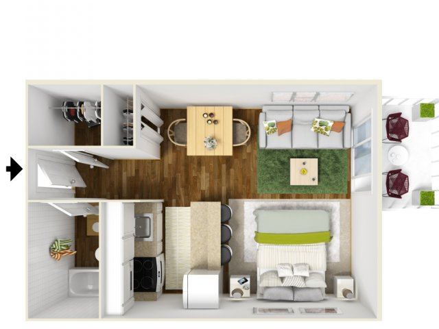 Floor Plan 3 | Scottsdale Gateway II 2