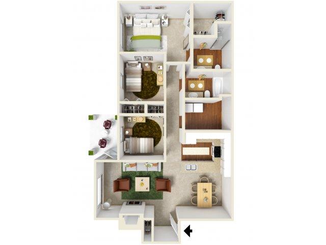 Village at Cascade | Floor Plan 2