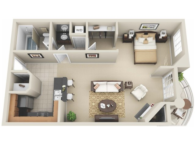 studio apartments los angeles the preston miracle mile