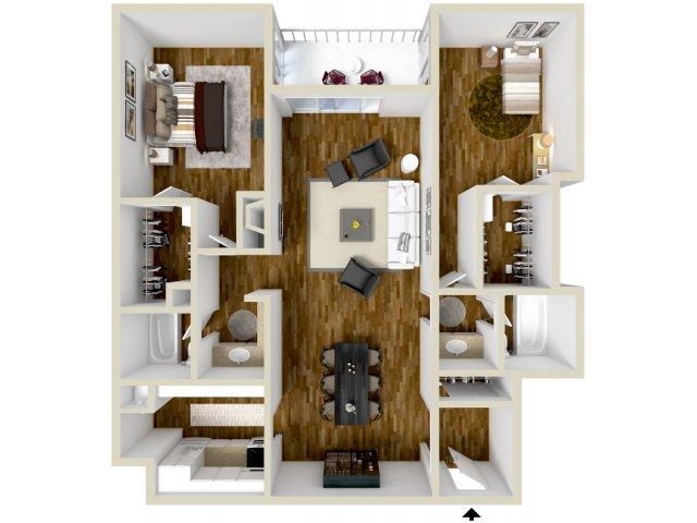 Floor Plan 7 | Dayton Crossing 1