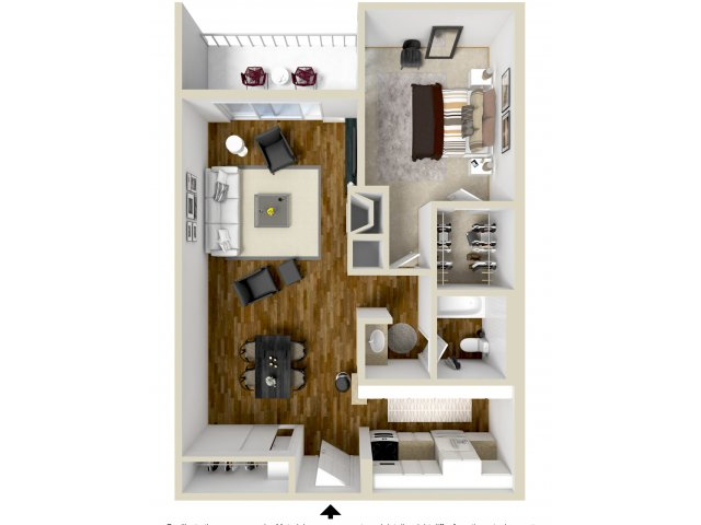 Floor Plan 4 | Woodstream Village
