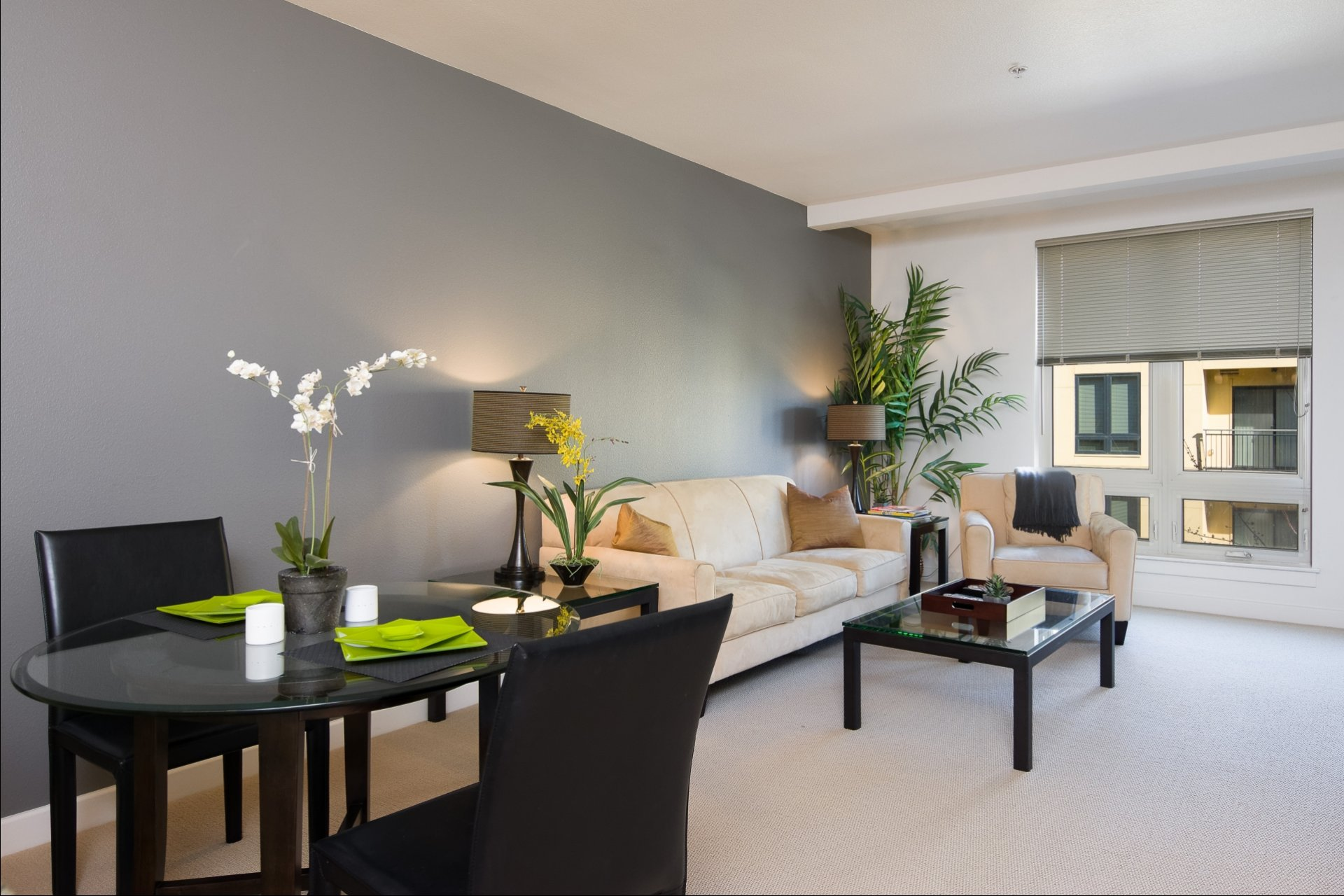 Spacious Living Room | Apartments In Eugene Oregon | Crescent Village East