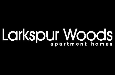 Larkspur Woods Logo