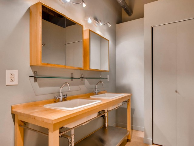 Image of Double Vanities for Albers Mill Lofts Apartments