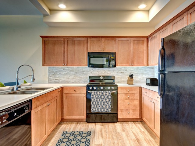 Image of Fully Equipped Gourmet Kitchen for Chelsea Heights Apartments