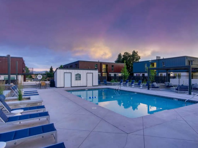 Image of Outdoor Pool for Copperwood Apartments