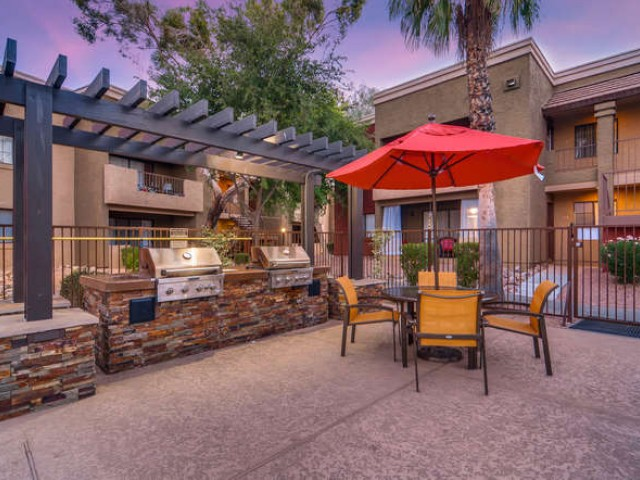 Image of Barbeque Area for Rockledge Fairways Apartments