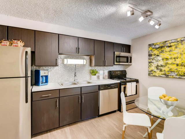 Image of Stainless   Steel Appliances for The Lodge Apartment Homes