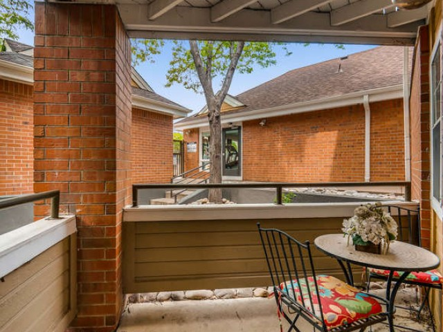 Image of Patio/Balcony for Village Creek Apartments